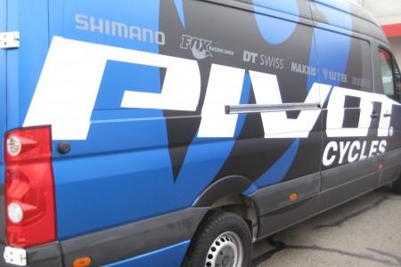 Pivot Cycles - Vollfolierung